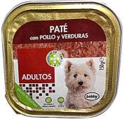 Comida perro pate pollo verduras adulto razas pequeñas