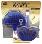 Block taza wc completo efecto lejia azul + cloro activo PACK-2 ( colorea el agua)