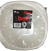Bol desechable plastico multiuso 175 mm blanco
