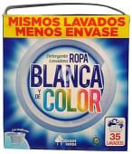 Detergente lavadora polvo ropa blanca y color