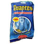 Guantes reforzado azul y amarillo talla pequeña