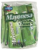 Mayonesa en sobres individuales