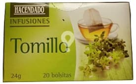 Infusion tomillo