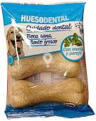 Comida perro hueso dental adulto razas medianas y grandes (con menta y perejil)