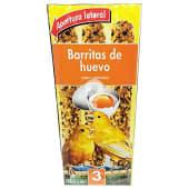 Comida canario barrita huevo