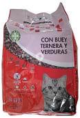 Comida gato croqueta buey- ternera -verduras