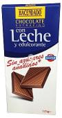 Chocolate leche sin azucar