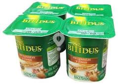 Yogur bifidus fibras cereales