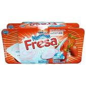 Natillas fresa