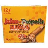 Ampollas propolis + jalea real (niños + 4 años)