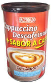 Cafe soluble cappuccino descafeinado