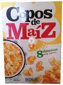 Cereal copos maíz