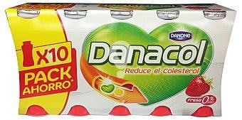 Yogur liquido danacol fresa (reduce el colesterol)