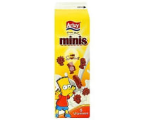 Galletas de chocolate Mini Simpson