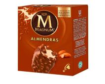 Helado Magnum 4 Pack Almendra