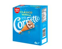 Helado Cornetto 4 Pack Vainilla