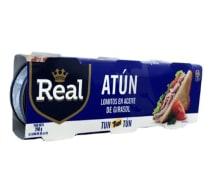Atun Real Aceite 80G 3 Pk