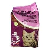 Comida para gatos esterilizados light
