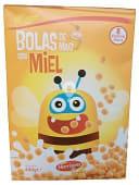 Cereal bolas maíz miel