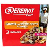 Barrita energetica frutos secos y vitaminas para deportistas