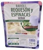 Pasta fresca ravioli requeson y espinacas