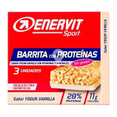 Barrita proteinas yogur-vainilla para deportistas