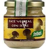 Paté vegetal con setas
