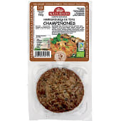 Hamburguesa de tofu y champiñones pack 2 unidades estuche 150 g