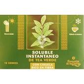 té verde con ciruela soluble