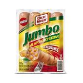Salchichas jumbo jalapeño y cheddar