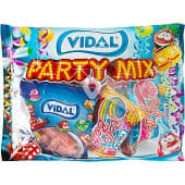 Gominolas surtidas envasadas en bolsitas Party Mix