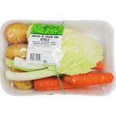 Surtido de verduras para cocido con repollo