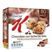Kellog´s barritas chocolate con leche