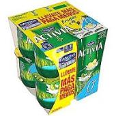 Yogur surtido kiwi y piña 0%