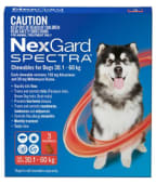 NEXGARD SPECTRA XL - For Dogs from 30 to 60 kg; 1