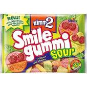 Caramelos de goma con zumo de frutas y vitaminas sabor ácido