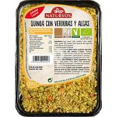 Quinoa con verduras y algas bio
