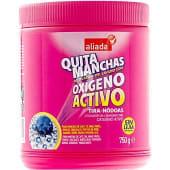 Quitamanchas oxígeno activo en polvo sin lejía