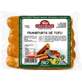 Salchichas frankfurt de tofu ecológicas