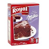 Preparado para hacer tarta de chocolate con Milka