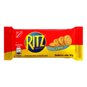 Galleta Ritz Sandwich Sabor a Queso 34gr