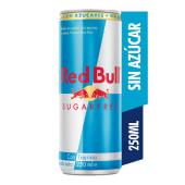 Bebida Energizante Red Bull Sugar Free 250ml