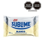 Chocolate Sublime Sonrisa Blanco 40gr