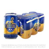 Cerveza Cristal Six Pack Lata  355ml