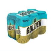 Cerveza Golden Six Pack 355ml