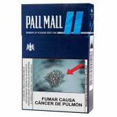 Cigarros Pall Mall Blue 20und