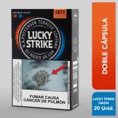 Cigarros Lucky Strike Crush Doble Cápsula 20und