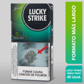 Cigarros Lucky Strike Fresh Twist 20und