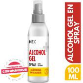 Alcohol Gel Spray 100ml 24und
