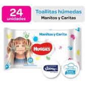 Toallitas Húmedas Manos y Caritas 24und
